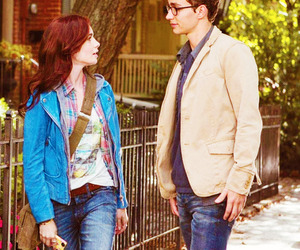clary fray, simon lewis, and the mortal instruments image