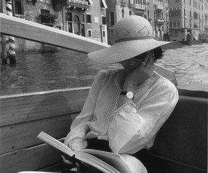 reading, venice, and book image