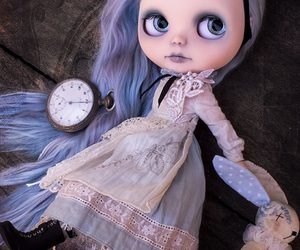 blythe, dolls, and gothic image