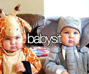 baby, babysit, and cute image
