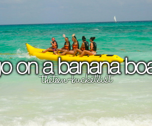 bucket list, boat, and summer image