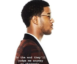 kid cudi and text image