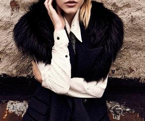 blonde, brown eyes, and trendy image