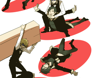 anime, durarara, and shizaya image