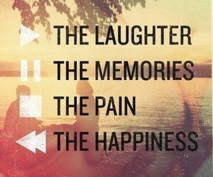 memories, happiness, and pain image
