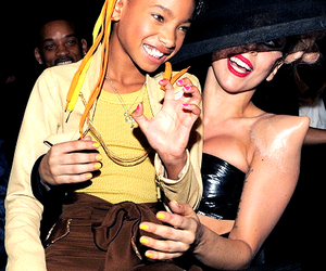 Lady gaga, willow smith, and cute image