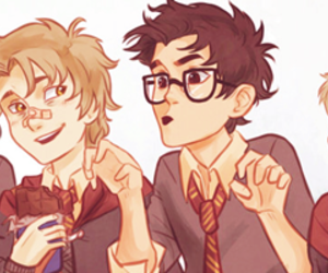 sirius black, remus lupin, and harry potter image
