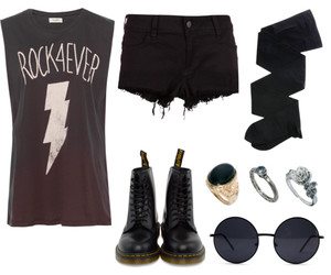 dr martens, fashion, and rock image