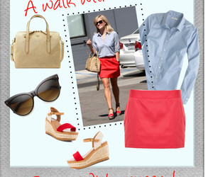 clothing, Reese Witherspoon, and shopping image