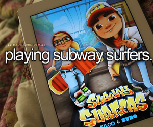 subway surfers, dubtrackfm, and game image
