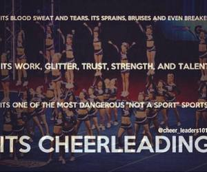 athletes, cheer, and Cheerleaders image