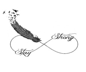 strong, text, and love image