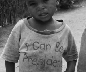 president, child, and boy image