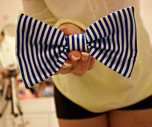 bow, cool, and blue image