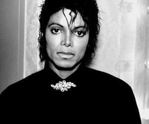black and white, funny, and king of pop image