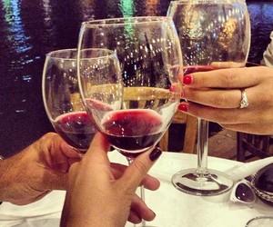 cheers and wine image