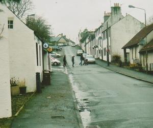 rainy day, street, and vintage image