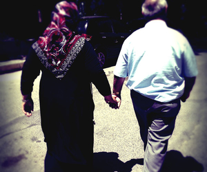 couple, islam, and old image