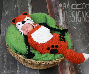 baby, cocoon, and crochet pattern image
