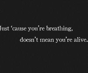 breathing and text image