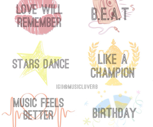 stars dance, love will remember, and like a champion image