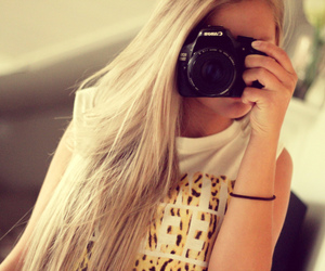 girl, canon, and fashion image