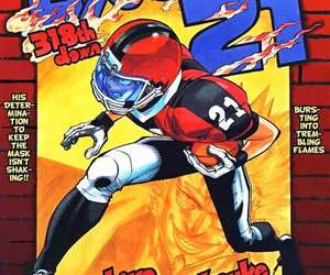 anime, cover, and eyeshield 21 image