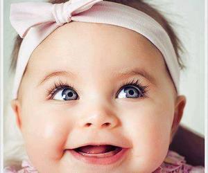 baby, girl, and smile image