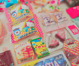kawaii, candy, and food image