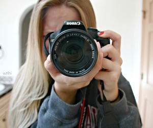canon, blonde, and girl image