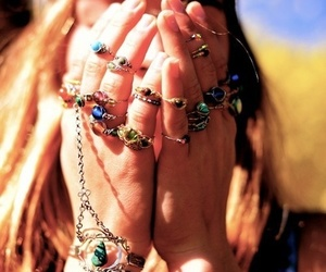 bracelets, ring, and gypsy image