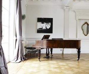 luxury, piano, and room image