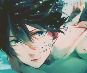 haruka nanase, anime, and boy image