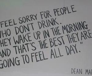quote, drink, and drunk image