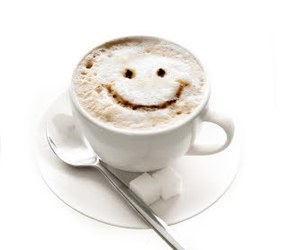 coffee, smile, and cute image