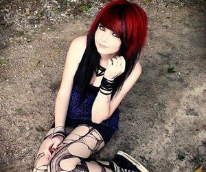 emo, scene, and emo girl image