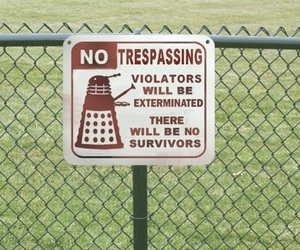 doctor who, Dalek, and funny image