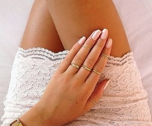 nails, fashion, and dress image
