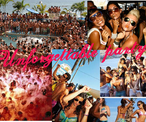 awesome, beach, and beach party image