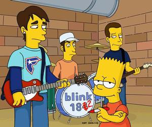 blink 182 and simpsons image