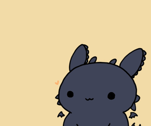 kawaii, cute, and dragon image