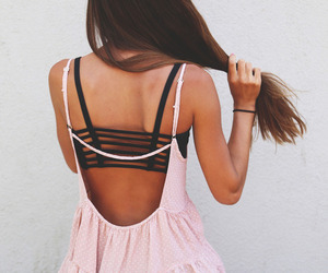 dress, girl, and hipster image