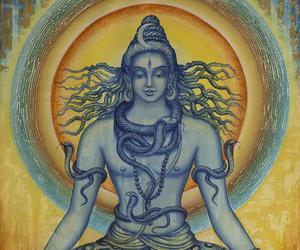 shiva, breathing, and lord shiva image