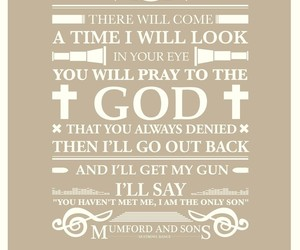 god, Lyrics, and mumford and sons image