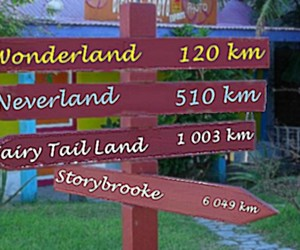 neverland, once upon a time, and wonderland image