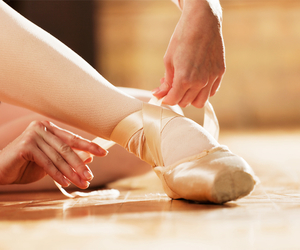 ballet, my dream, and pointes image