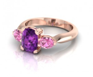 amethyst, gold, and jewelery image