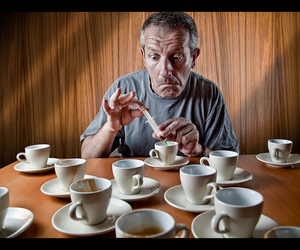 addiction, cup, and portrait image