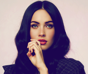 megan fox, pretty, and hair image