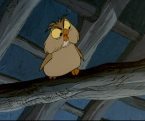 character, disney, and owl image
